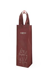 红酒葡萄70克90克无纺布袋礼品袋生产实例