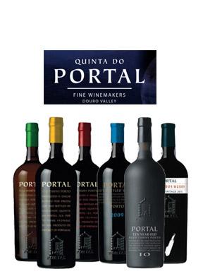 葡萄牙杜罗河产区PORTAL系列加强酒波特酒葡萄酒